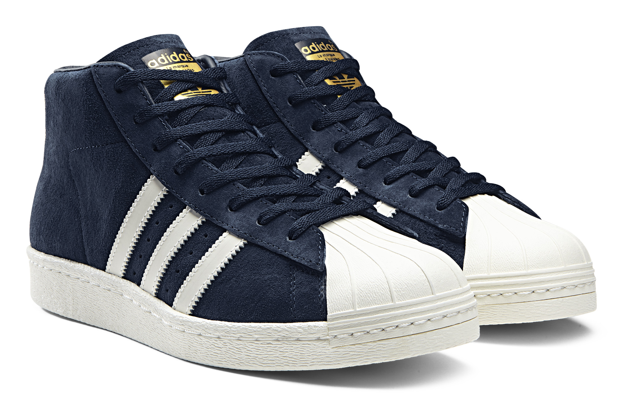 adidas superstar high blue