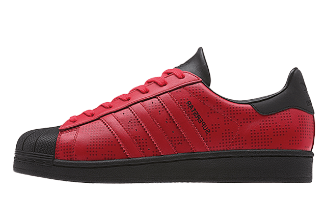 adidas superstar red