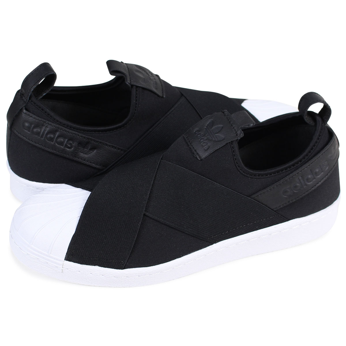 adidas superstar shoes black