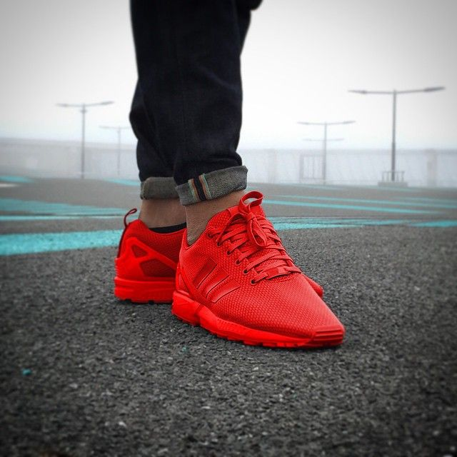 all red adidas