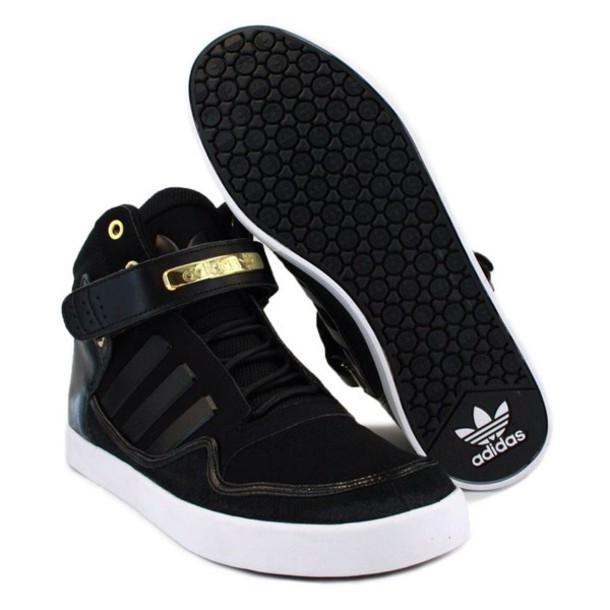 black and gold adidas shoes